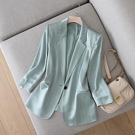 Áo vest, blazer nữ áo khoác nữ sang Trọng HATI