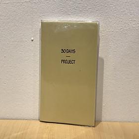 Sổ 30 Days Project Yangji A22 - Vàng (64 Trang)