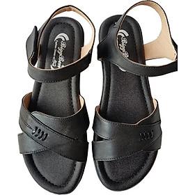 Giày Sandal Nữ BIGGBEN Da Bò Thật SDN50