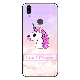 Ốp Lưng Dành Cho Vivo V9 - I Am Unicorn Hồng