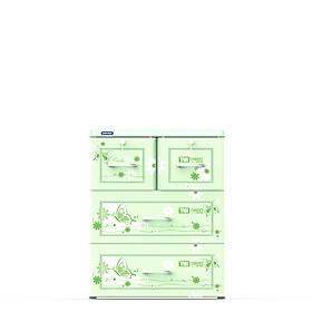 Tủ nhựa Duy Tân TABI 3 tầng No.H159/3 ( 60 x 48 x 76 cm ) - Họa tiết ngẫu nhiên