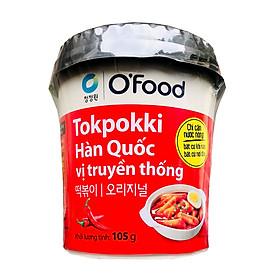 Bánh Gạo Tokpokki Hàn Quốc Ăn Liền Vị Truyền Thống O'Food Ly 105g