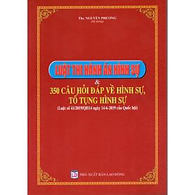 LUẬT THI HÀNH ÁN HÌNH SỰ & 350 CÂU HỎI ĐÁP VỀ HÌNH SỰ, TỐ TỤNG HÌNH SỰ