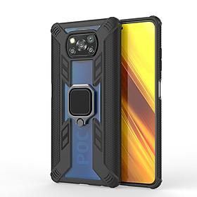 Ốp lưng cho Xiaomi Poco X3 NFC iRON - MAN IRING TRONG SUỐT Nhựa PC cứng viền dẻo chống sốc