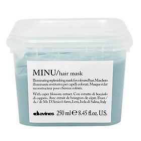 Kem ủ Davines Minu Hair Mask giữ màu tóc nhuộm chính hãng Ý 250ml-0