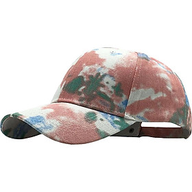 Vintage Outdoor Festival Tie Dye Baseball Cap Boonie Summer Sun Cap Women Men