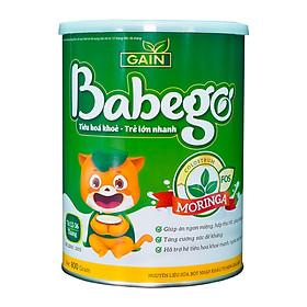 Sữa mát tăng cân, cải thiện biếng ăn và táo bón Babego từ 12 - 36 tháng, 800G-0