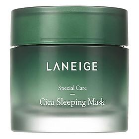 Laneige Cica Sleeping Mask 60ml + Tặng 1 Innisfree Green Tea Mask Sheet