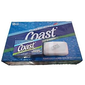 Xà Bông Cục Coast Classic Scent Refreshing Deodorant 16 Cục X 113g - USA