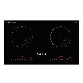 Bếp Điện Từ Đôi Sato SIH378 N2.1