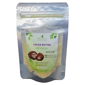 Bơ cacao thô nguyên chất - Cocoa Butter 100gr | Bio Aroma