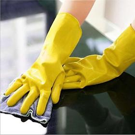 Bộ 4 đôi găng tay rửa chén bát cao su