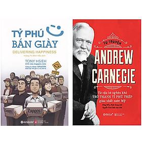 Combo Sách Doanh Nhân : Tỷ Phú Bán Giày + Tự Truyện Andrew Carnegie - Từ Cậu Bé Nghèo Khó Trở Thành Tý Phú Thép Giàu Nhất Nước Mỹ