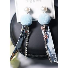 Hình đại diện sản phẩm Bông tai Hàn Quốc - Hoa tai đẹp sang chảnh - Khuyên tai đi dự tiệc, đám cưới, sinh nhật xinh xắn - Mẫu 19