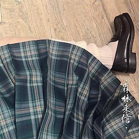 Chân Váy Đồng Phục Xếp Ly Phong Cách Nhật Bản Cho Nữ