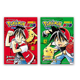 [Download sách] Combo Pokémon Đặc Biệt: Bản Chọn Lọc Red - Green - Blue ( 2 tập )