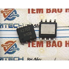 Combo 3 chiếc A2702, µPA2702GR Mosfet kênh N 13A 70V SOP-8- Hàng chính hãng