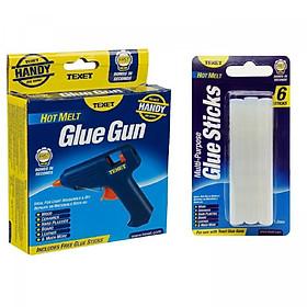 Bộ súng bắn keo TEXET HH-158 và vĩ 06 thanh keo