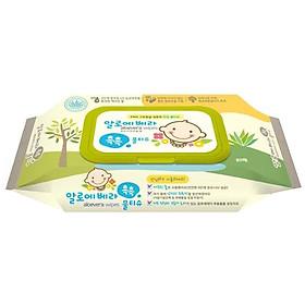 Combo 5 Gói Khăn ướt Living Aloe Vera 80 Tờ-1