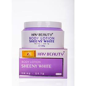 Body Lotion Sheeny White - Kay Beauty dưỡng trắng cấp ẩm