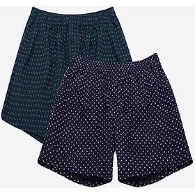 Combo 2 quần đùi Nam cao cấp 100% Cotton cao cấp Mẫu 3