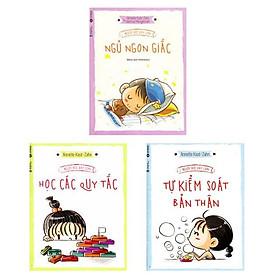 Combo 3 cuốn người Đức dạy kĩ năng cho trẻ: Người Đức Dạy Con Học Các Quy Tắc + Người Đức Dạy Con Ngủ Ngon Giấc + Người Đức Dạy Con Tự Kiểm Soát Bản Thân (Tặng kèm Sổ Tay Cung Hoàng Đạo)