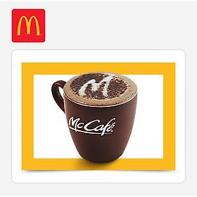 McDonald's - 1 Cà Phê (cà phê Vietnam/ Americano/ Cappuccino) - E-code - 25k Coffee