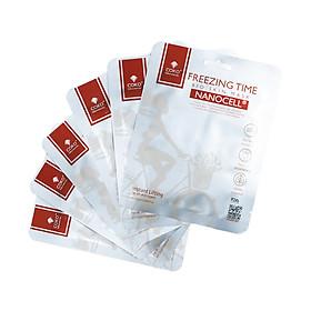 Combo 7 Mặt Nạ Da Sinh Học Tái Tạo Collagen Ngăn Ngừa Lão Hoá COKO Freezing Time Bio Skin Nanocell Mask Lên Men Từ 100% Nước Dừa Tươi Tự Nhiên Cho Làn Da Đàn Hồi Săn Chắc Và Căng Tràn Sức Sống - Hàng Chính Hãng