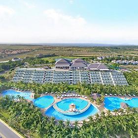 Sea Links Beach Hotel 5* Mũi Né - Buffet Sáng, Hồ Bơi Lớn, Xông Hơi, Bãi Biển Riêng