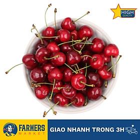 Cherry Đỏ Úc Size 26-28 - Trái căng đỏ, mọng nước, cherry đầu mùa có vị ngọt thanh xen chút chua nhẹ