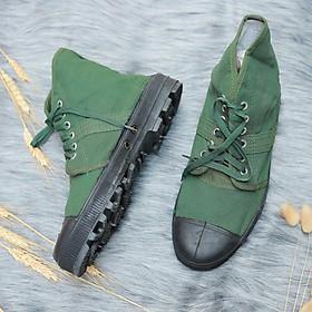 Giày vải bộ đội - bảo hộ lao động - thương hiệu Aseco 32