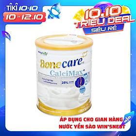 Sữa bột Bonecare Calcimax+ 900g dành cho người từ 18 tuổi trở lên bổ sung canxi phòng ngừa loãng xương, tim mạch và tiểu đường.