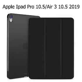 Bao Da Cover cho Apple Ipad Pro 10.5 / Air 3 10.5 2019 Hỗ Trợ Smart cover