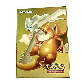 Bộ Thẻ Bài Chơi Pokemon 100 Thẻ (50Gx, 20Mega, 20Energy, 10trainer) Chơi Đối Kháng New Đẹp