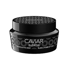 Mặt nạ Selective Caviar Sublime Ultimate Luxury mask dưỡng ẩm phục hồi tóc chiết xuất trứng cá tầm Ý 250ml