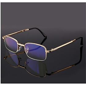 Kĩnh lão thị gập gọn có bao da mắt cực sáng và trong chống mỏi khi đeo lâu kvt15cp2
