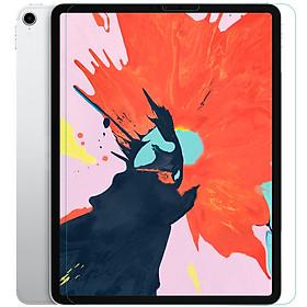 Miếng dán màn hình kính cường lực cho iPad Pro 12.9 2020 / iPad Pro 12.9 2018  hiệu Mercury H+ Pro (mỏng 0.2 mm, vát cạnh 2.5D, chống trầy, chống va đập) - Hàng nhập khẩu