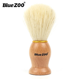 Shaving Tools for Men's Wet Shaving Brush Hair Beard Brush Facel Cleaning Brush Wood Handle Mini Portable