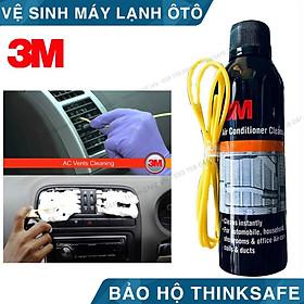 Chai xịt vệ sinh hệ thống điều hòa ô tô 3M AIR CONDITIONER CLEANER FOAM 89227 - Bình xịt vệ sinh làm sạch bụi bẩn và khử mùi hệ thống điều hòa