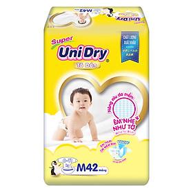 Tã Dán Cho Bé Unidry (G6+) Size M42 (42 miếng)