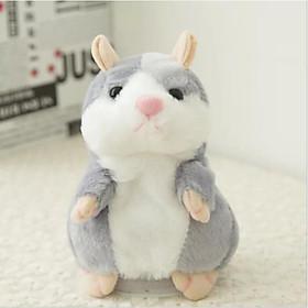 Chú chuột Hamster bắt chước theo tiếng nói của bé yêu ngộ nghĩnh (Xám)