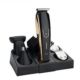Tông đơ chuyên nghiệp và máy cạo râu đa chức năng cao cấp 8 in 1 SPORTSMAN SM-652 - Hàng Chính Hãng