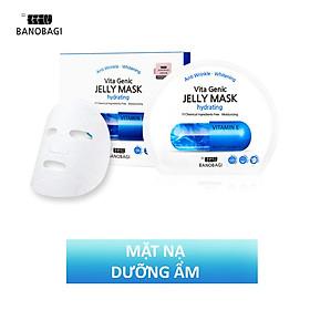 Combo 10 Mặt nạ giấy cấp nước dưỡng ẩm da mềm mượt, căng bóng Banobagi Vita Genic Hydrating Jelly Mask (Vitamin E) 30ml x10