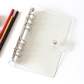 Bìa sổ còng planner, bìa nhựa trong suốt