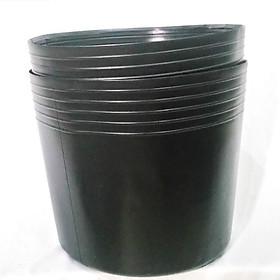 50 Chậu 25x21x21cm nhựa PE dẻo trồng cây bền từ 5 đến 10 năm-0277105