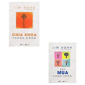 Combo 2 cuốn sách Jim Rohn: Chìa Khóa Thành Công + Bốn Mùa Cuộc Sống