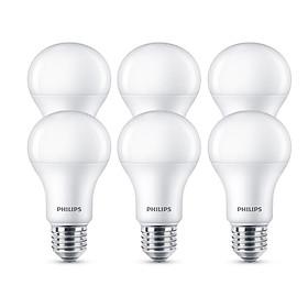 Bộ 6 Bóng Đèn Philips MyCare LED 12W E27 6500K 6C-929001916337 - Ánh sáng trắng