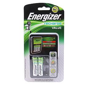 Máy Sạc Pin Energizer CHVCM4 + 2 Pin Sạc AA