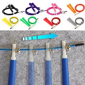 Dây nhảy thể dục nhựa PVC cao cấp có thể tuỳ chỉnh độ dài dây, tối đa 3m-6