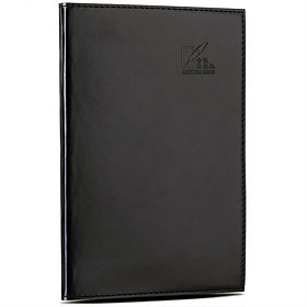 Effective (deli) 3191 25K leather face of this notebook record of the business soft leather notebook 96